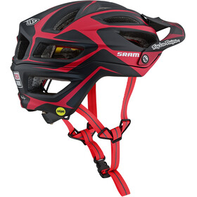Troy Lee Designs A2 MIPS Helmet dropout sram/red
